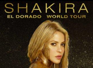 Shakira à l'Arena de Montpellier