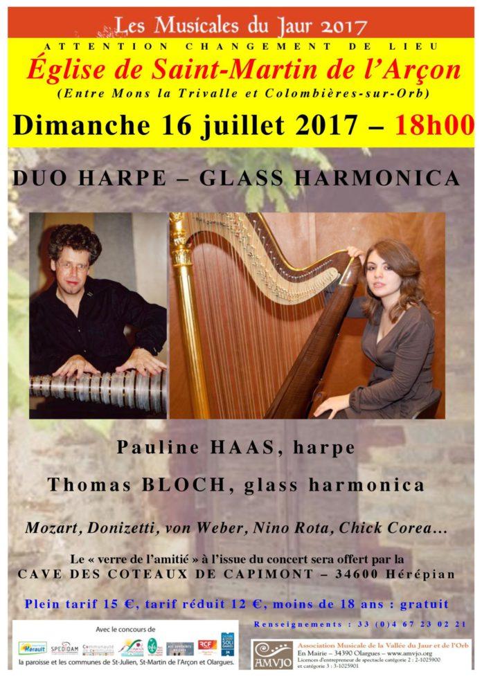 Pauline Haas et Thomas Bloch