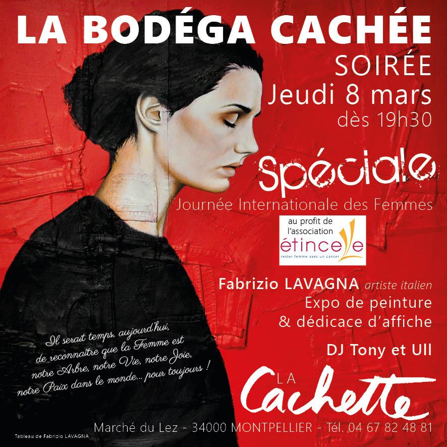 Affiche Pour La Journée De La Femme soirée spéciale «journée internationale des femmes» jeudi 8 mars à