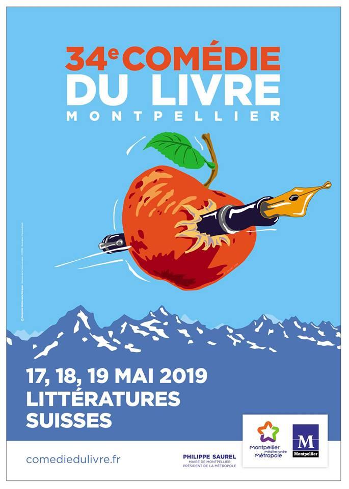 34eme Comedie Du Livre De Montpellier 16 Nouveaux Auteurs